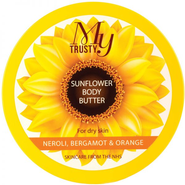 My Trusty sunflower body butter