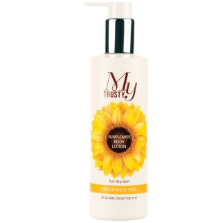 My Trusty fragrance free sunflower body lotion