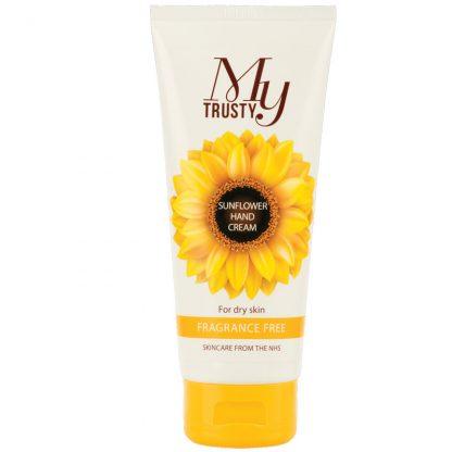 My Trusty fragrance free sunflower hand cream