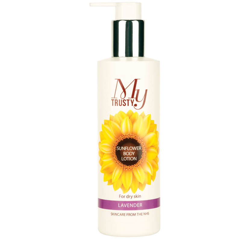 My Trusty lavender scented sunflower body lotion