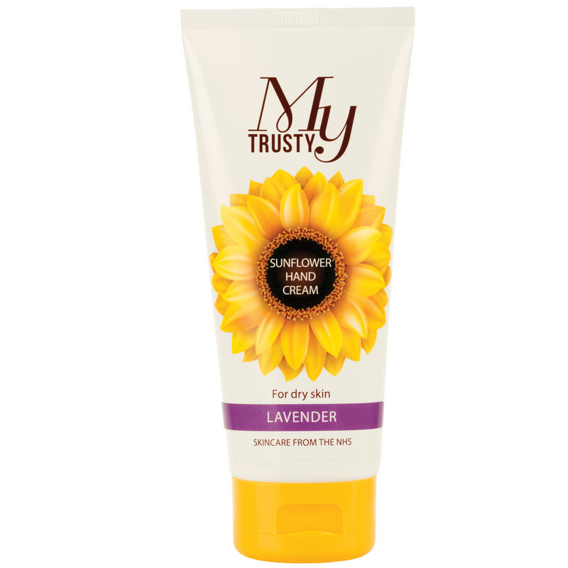 My Trusty lavender scented sunflower hand cream