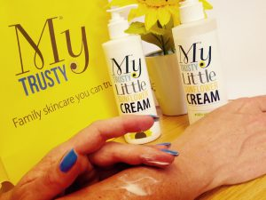 my trusty sunflower cream
